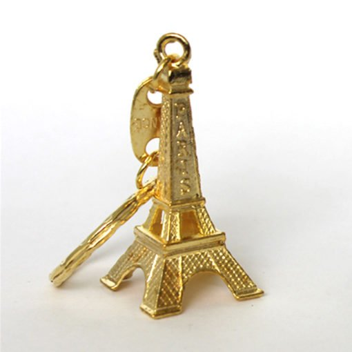 Eiffel Tower Keying Gold