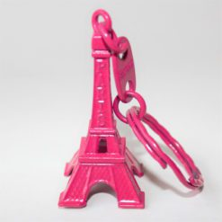Eiffel Tower Keying Pink