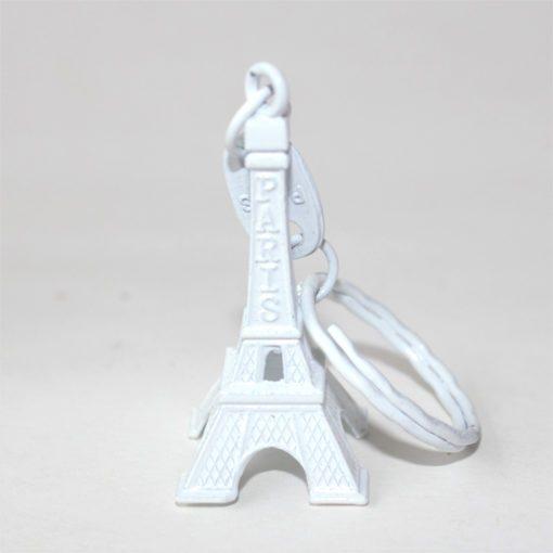Eiffel Tower Keying White