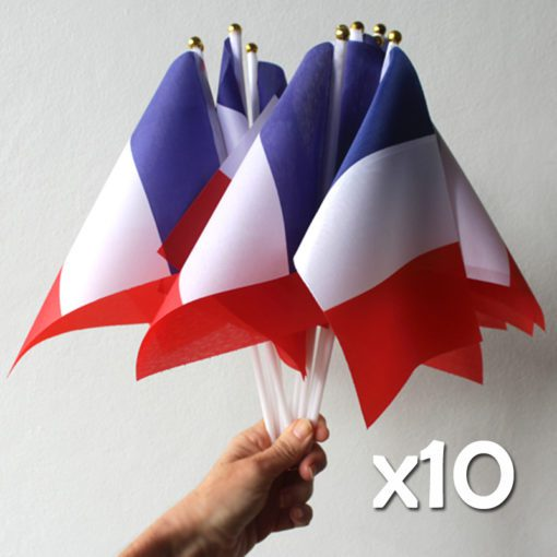 Ten French Flags