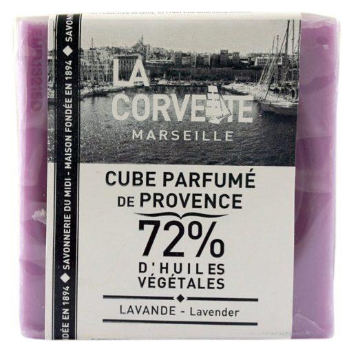 Lavender Savon de Marseille Soap Cube