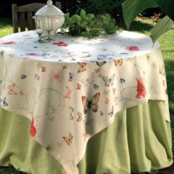 Italian Linen Tablecloth Papillion
