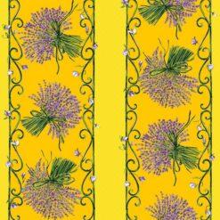 Bouquet de Lavande Jaune Pattern