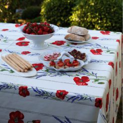 COQUELICOT LAVANDE Tablecloth
