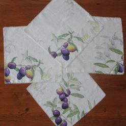 Olive Napkin Display