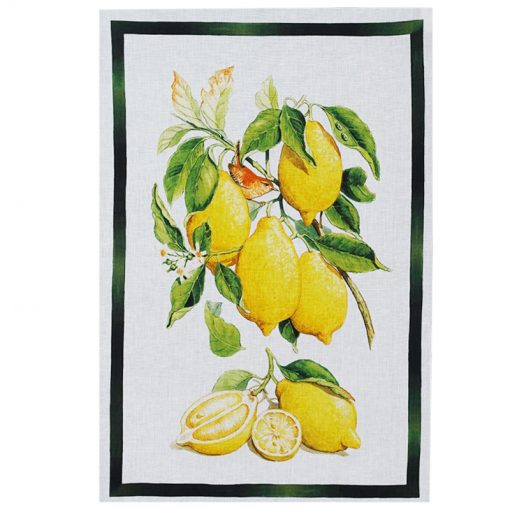 Tea Towel Lemons and Quince