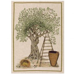 Tea Towel Olive Tree