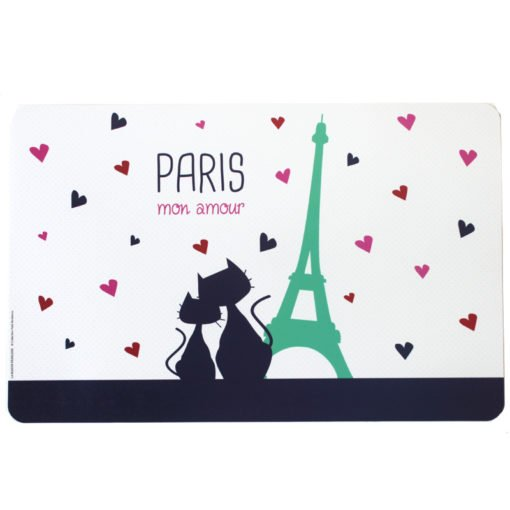 Eiffel Tower Cats Placemat