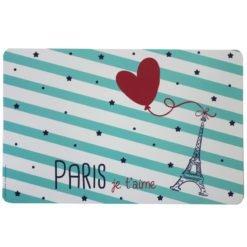 Paris Heart Placemat