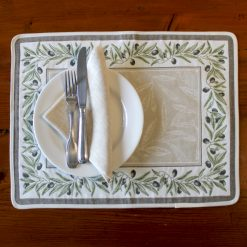 Auriol Vert French Placemat Table Setting