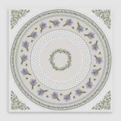 Lauris Square French Tablecloth Pattern
