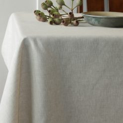 Natural French Linen Tablecloth