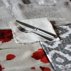 Natural French Linen Napkin Fabrics
