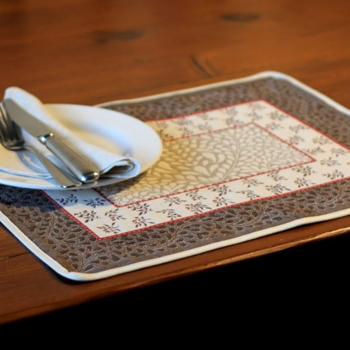 Aubrac French Placemat Setting