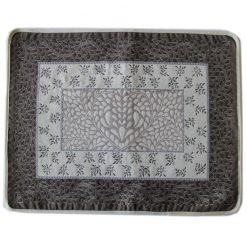 Aubrac Taupe Bleu French Placemats