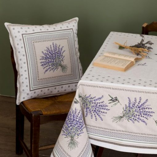 Cushion Cover Castillon Lavande Chair