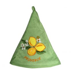 French Hand Towel Green Citron