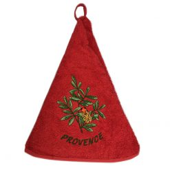 French Hand Towel Red Cigale