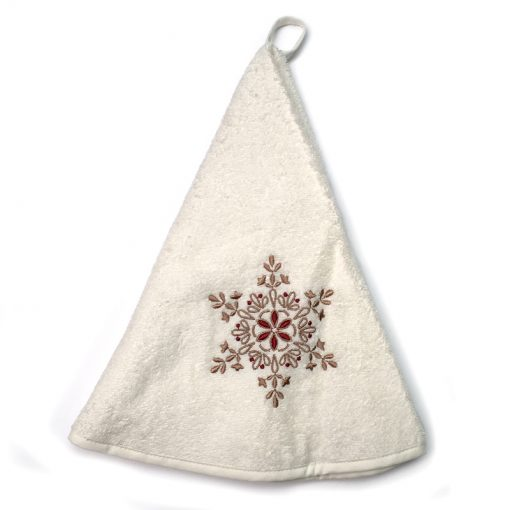 French Hand Towel White Star