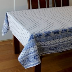 Bastide Blanc Bleu Tablecloth