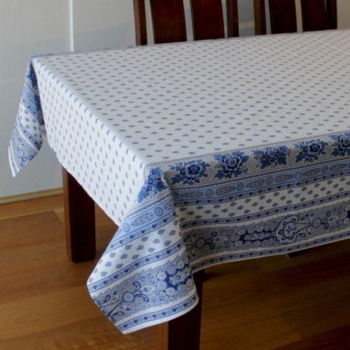 Bastide Blanc Bleu Tablecloth