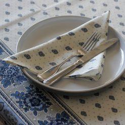 Bastide Blanc Bleu Serviette
