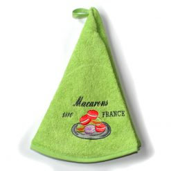 French Hand Towel Green Macaron