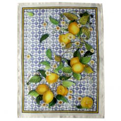 Tea Towel Tiles Lemons