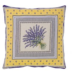Cushion Cover Castillon Jaune Single
