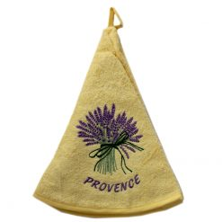 French Hand Towel Yellow Lavender