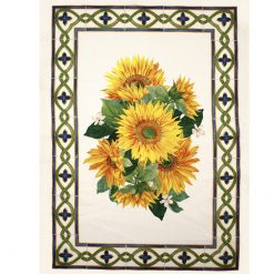 Tea Towel Blossom Sunflowers