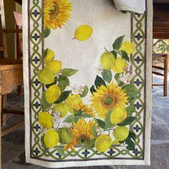 Sunflowers Table Runner