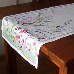 Spring Linen Runner Side
