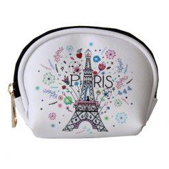 White Paris Purse