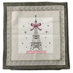 Eiffel Tower Cushion Cover