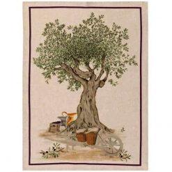Tea Towel Olive Tree Barrow