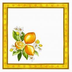 Citron Blanc Napkin
