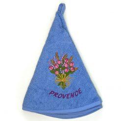 French Hand Towel Blue Rose et Lavande